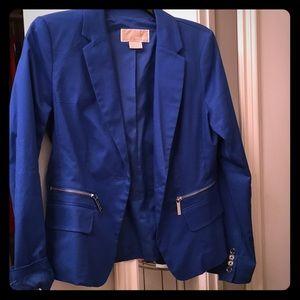 Michael Kors bright blue blazer